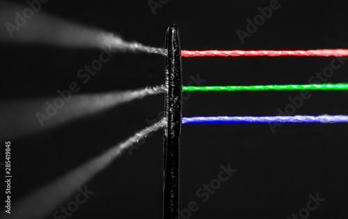 Photo fotografia abstracta RGB