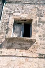 Okno W Starej Budowli