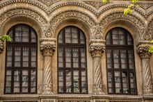 "Bucharest / Romania - 04.21.2019: Facultatea De Arhitectura Si Urbanism ""Ion Mincu"" (photo Of The Architecture And Urbanism University ""Ion Mincu"")"