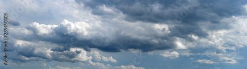 Canvas Prints Heaven Panorama Schleierwolken
