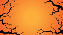 Halloween Background With A Sp...