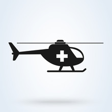 Ambulance Helicopter Simple Ve...