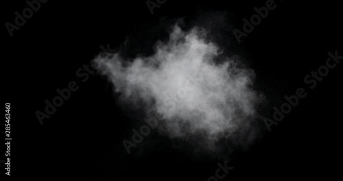 Fog or smoke isolated transparent special effect Tablou Canvas