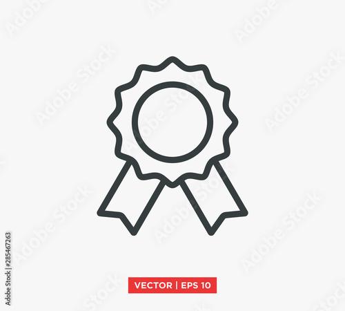 Fotografía Award Medal Icon Vector Illustration