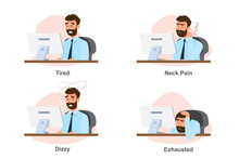 Office Syndrome, Business Man ...
