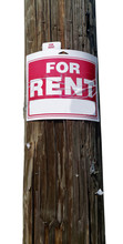 FOR RENT Sign Stapled To Telep...