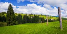 Typical Carpathians Village La...