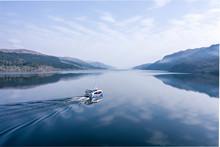 Loch Ness Tour Boat Heading Ac...