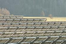Solarfeld, Sonnenenergie, Elektrizität, Erzeugung