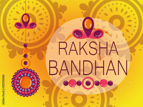 Photo  happy raksha bandhan poster design