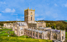 Panoramic View Of St David's C...