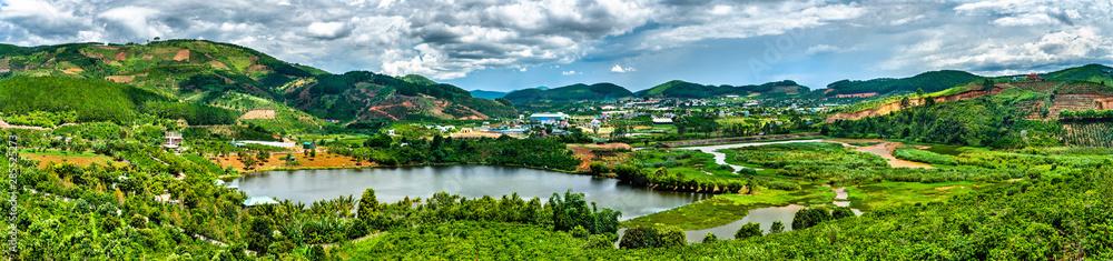 Fototapety, obrazy: Landscape in Dalat, Vietnam