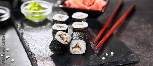 Fototapeta Delicious Sushi Rolls obraz