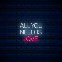 All You Need Is Love - Glowing...