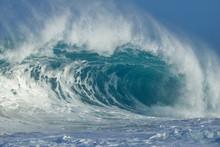 USA, Hawaii, Oahu, Big Wave