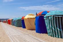 Colourful Traditional Beach Hu...