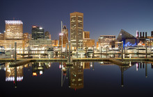 Baltimore, Maryland, USA Skyli...