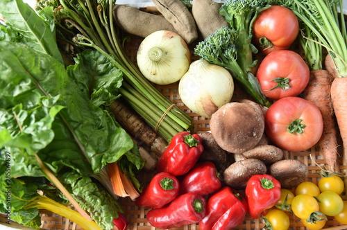 野菜 Fotobehang