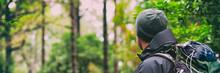 Hiking Hiker Man On Hike With ...