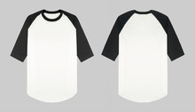 Set Of Raglan T Shirt In Front...