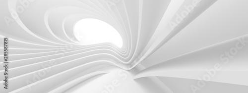 Plakaty do przedpokoju  white-circular-building-geometric-graphic-design