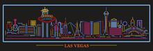 Las Vegas Nevada Neon Skyline