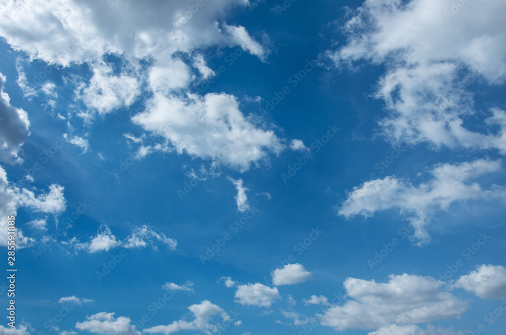 Fototapeta blue sky with clouds background