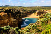 Loch Ard Gorge Is Part Of Port Campbell National Park On Great Ocean Road, Victoria, Australia.