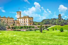 Osborne House In East Cowes, Isle Of Wight