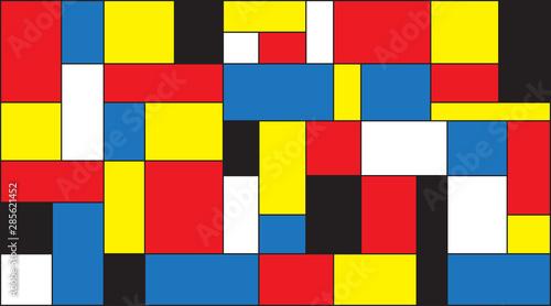 Fototapety Geometryczne   mondrian-background