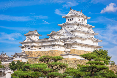 Himeji Castle in the autumn season.