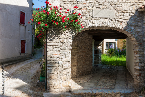 Recess Fitting Brick The village of Revine in the Trevigiani hills