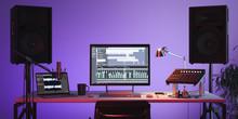 Studio Computer Music Station ...