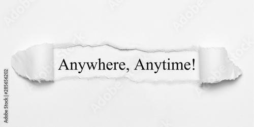 Anywhere, Anytime! Canvas Print