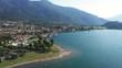 Aerial 4K - Lago di Como (IT) - Lido di Colico