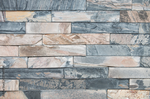 Pattern Of Decorative Stone Cladding Wall Detail Background