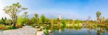 Landscape In Springtime. Locat...