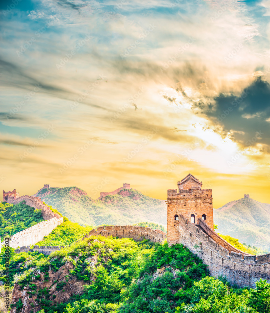Fototapety, obrazy: The Great Wall of China.