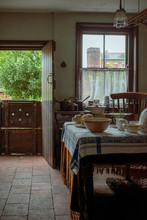 Period Property Kitchen Set In The Early 1920's