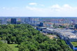 Top View to blocks of flats in Bratislava, Slovak Republic