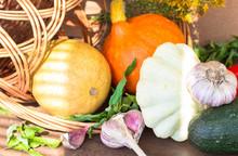 Harvest Of Autumn Vegetables, ...