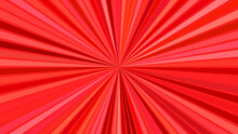 Red Psychedelic Abstract Strip...