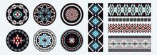 Set Of Ethnic Decorative Eleme...