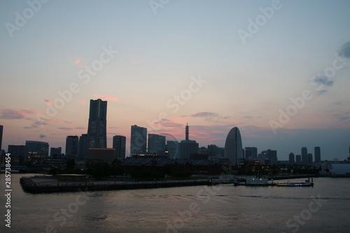 Foto op Aluminium Chicago 横浜みなとみらいの夜景
