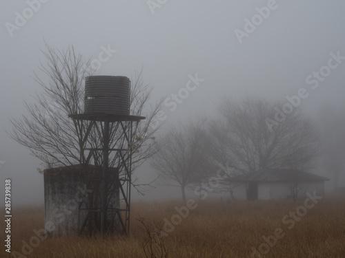Cadres-photo bureau Chasse Misty Farm Morning