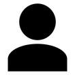 Leinwanddruck Bild - mwtg0 ManWomanThirdGender mwtg - gz425 GrafikZeichnung - german icon - Anwender: english - avatar / profile user icon: simple template isolated on white background. square poster xxl g8466