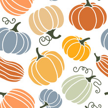 Seamless Pattern Of Colorful P...