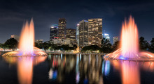 Reflecting Pool At The L.A. De...