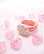 キャンディ型の指輪