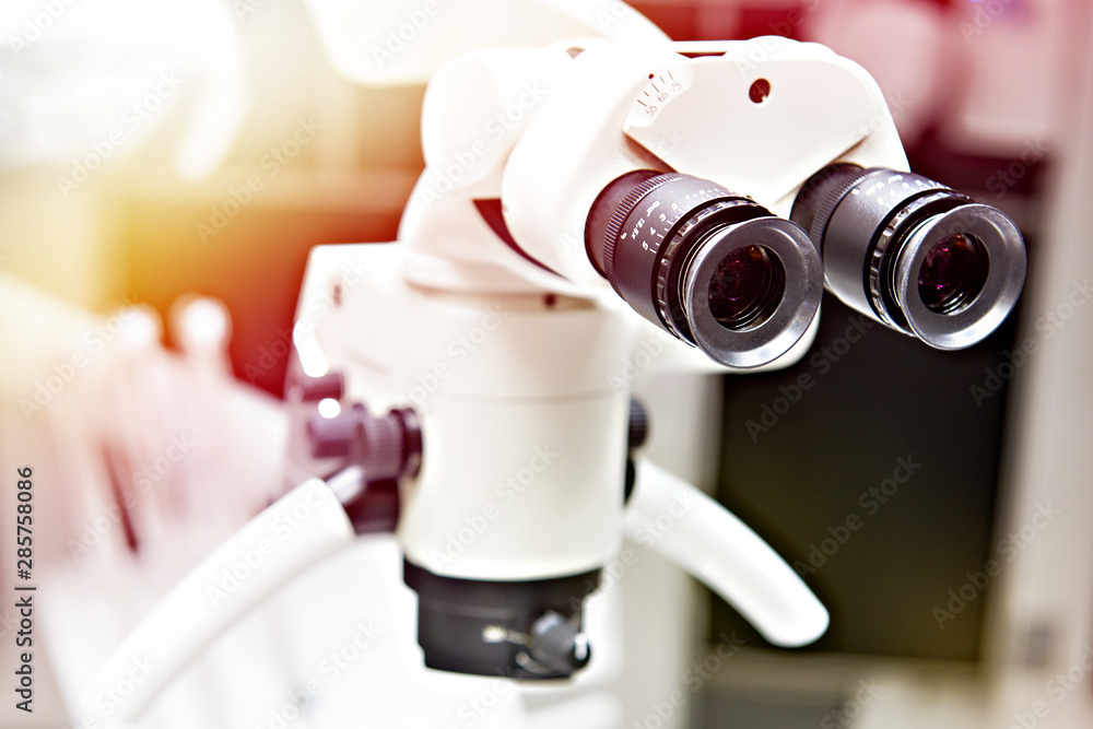 Fototapety, obrazy: Dental surgery microscope